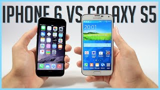iPhone 6 VS Galaxy S5 : Rapidité, Photo et Vidéo, Graphisme, Design, etc - Comparatif Français