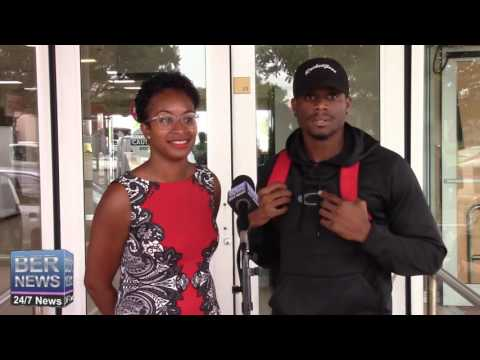Olympian Tre Houston Returns Home, August 23 2016