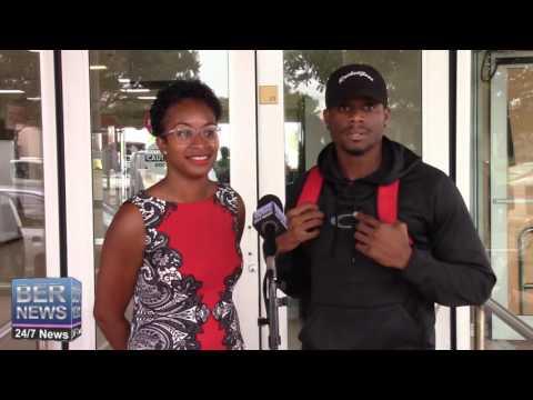 Olympian Tre Houston Returns Home, August 23 2016