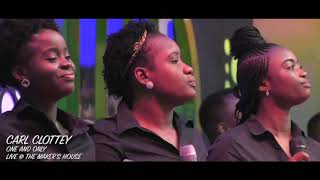 Watch this powerful rendition of minister carl clottey ministering his gospel hit song one and only at the maker's house chapel international -destiny ar...