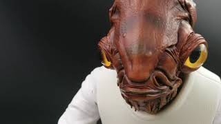 Admiral Ackbar 1/4 Scale One of a Kind Custom Statue by MYC Sculptures