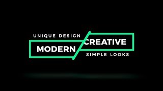 After Effects Tutorial: Smooth Text Intro - Complete After Effects Tutorials