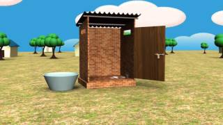 Gambar cover Twin pit toilet