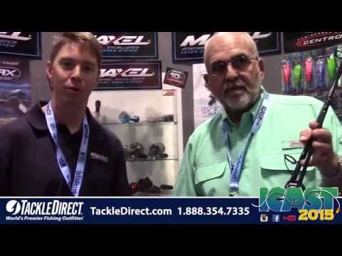 Tsunami Airwave Elite Rods At ICAST 2015