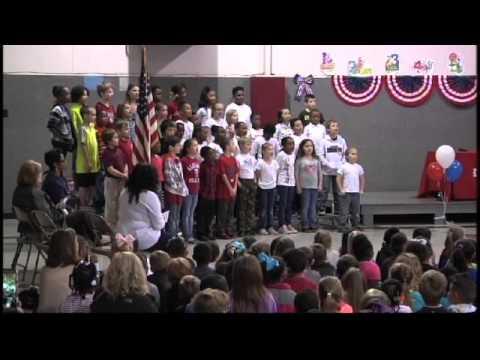 Saks Elementary School Veterans Day Program