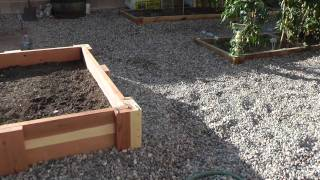 Redwood Vegetable Planter Box