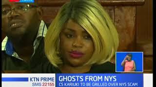 Video CS Cecily Kariuki set to appear before Public Accounts Committee regarding NYS saga download MP3, 3GP, MP4, WEBM, AVI, FLV Oktober 2018