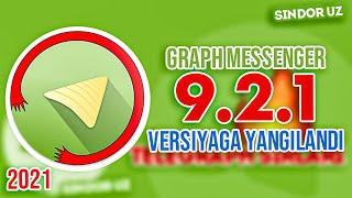Graph Messenger 9.2   JONLI EFIRLAR   TELEGRAPH 2021 screenshot 3