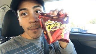 Flamin' Hot Mac n' Cheetos Taste Test