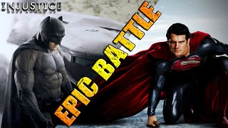 Batman vs Superman | EPIC BATTLE | DC Injustice: Gods Among Us