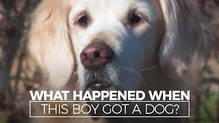 Heartwarming Story- Boy With Autism & His Dog