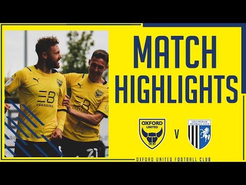 Oxford Utd Gillingham Goals And Highlights