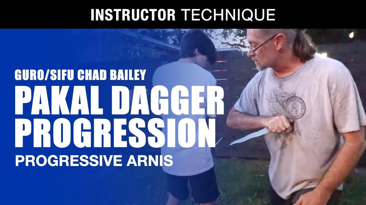 KNIFE DRILL | PAKAL DAGA PROGRESSION | Guro/Sifu Chad Bailey of Progressive Arnis | Kali | Eskrima