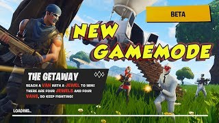 Playing Fortnite The Getaway Game Mode