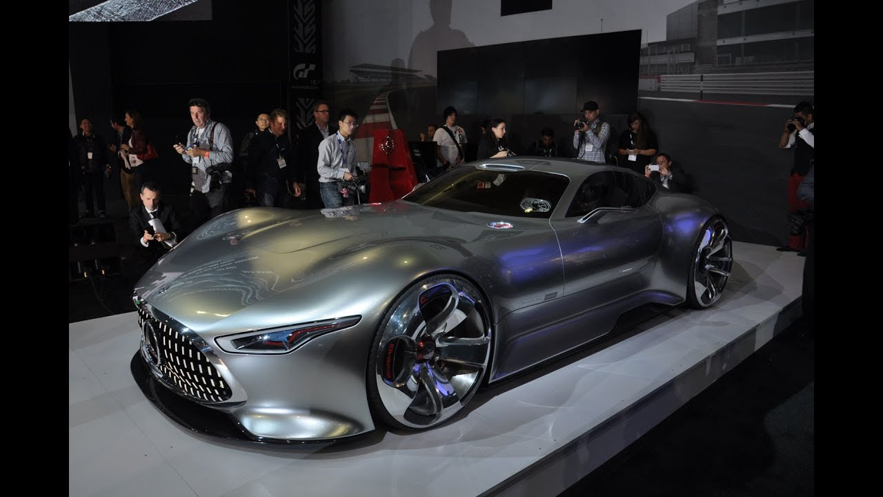 Mercedes-Benz AMG Vision GT Unveiled: 2013 Los Angeles Auto Show