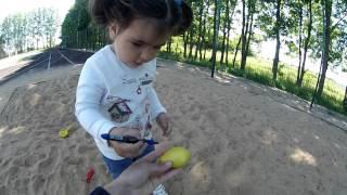 Развивающая Игрушка  Своими Руками | Позитивная Игрушка для Детей Прямо в Песочнице