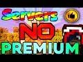 MEJORES SERVIDORES de Minecraft 1.9 NO PREMIUM y PREMIUM | TOP 5 (Con SkyWars, PvP y Más ) | 2016