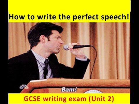 GCSE English Language: SPEECH Writing (NEW and UPDATED 2017!)