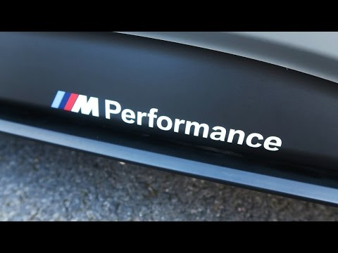 BMW F30 M Performance Side Skirt Decals Fitted! (M Sport 320d 2014)