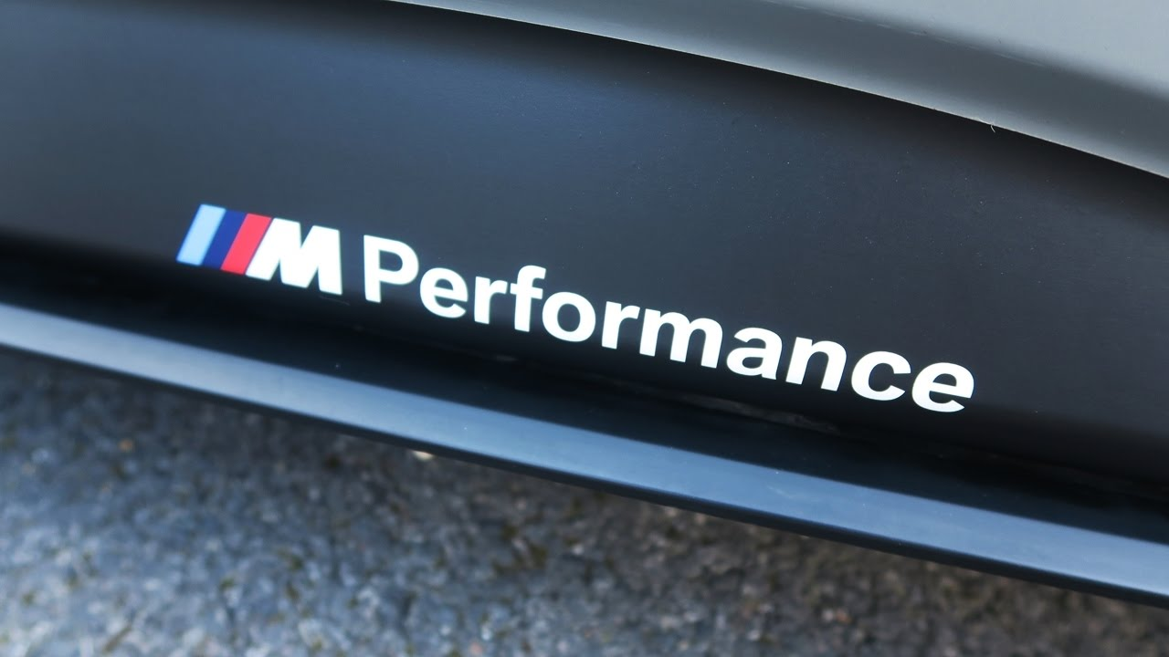 BMW F M Performance Side Skirt Decals Fitted M Sport D - Bmw rocker panel decals