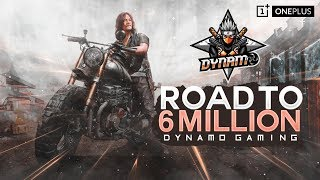 PUBG MOBILE LIVE WITH DYNAMO | EVENING EMULATOR STREAM | SOLO VS SQUAD ONLY