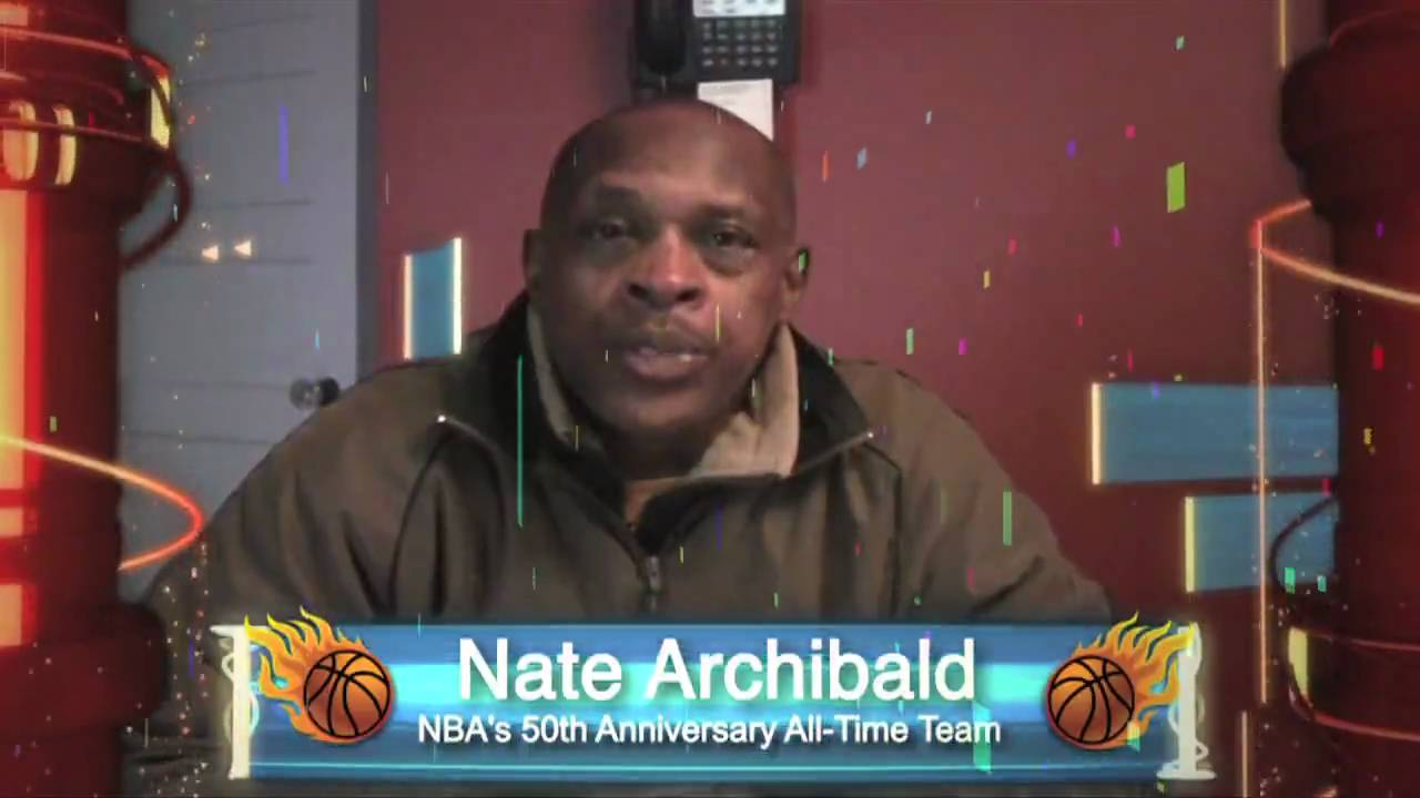 "Hoops Jones Nate ""Tiny"" Archibald endorses HoopsJones"