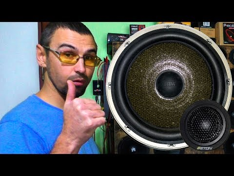 Крутая компонентная акустика ETON, обзор, прослушка, мои впечатления