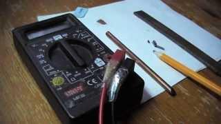 видео Как изготовить токопроводящий клей