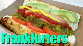 Frankfurters - Speedy Cooking Videos - PoorMansGourmet