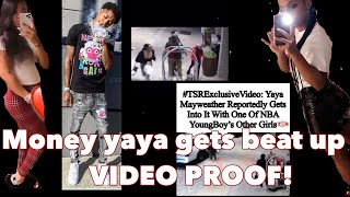 Floyd Mayweather's daughter Yaya gets beat up!! (VIDEO PROOF)