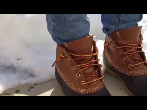 Eastland Knot Tutorial For Bean Boots
