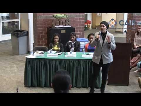 Video: CAIR Rep Speaks at DC School's MLK Social Justice Teach-In Day