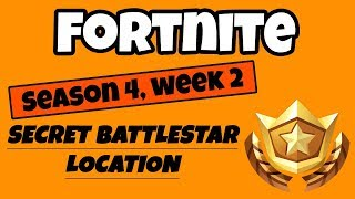 Fortnite - Saison 4 Semaine 2 Blockbuster Challenge - Secret Battlestar Emplacement