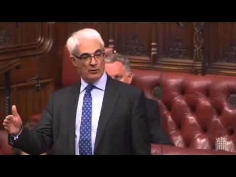 Alistair Darling re-running the referendum - Feb 2016