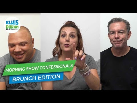 Morning Show Confessional: Brunch Edition | Elvis Duran Exclusives