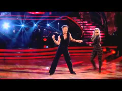 Ola and James Jordan's Rumba from 28.11.10 in HD