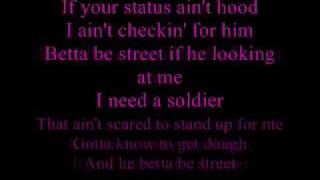soldier with lyrics