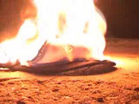 Burning RockStar Hat