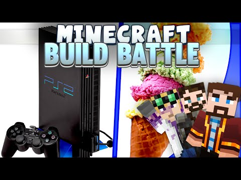 Minecraft Build Battles - Console and Ice Cream