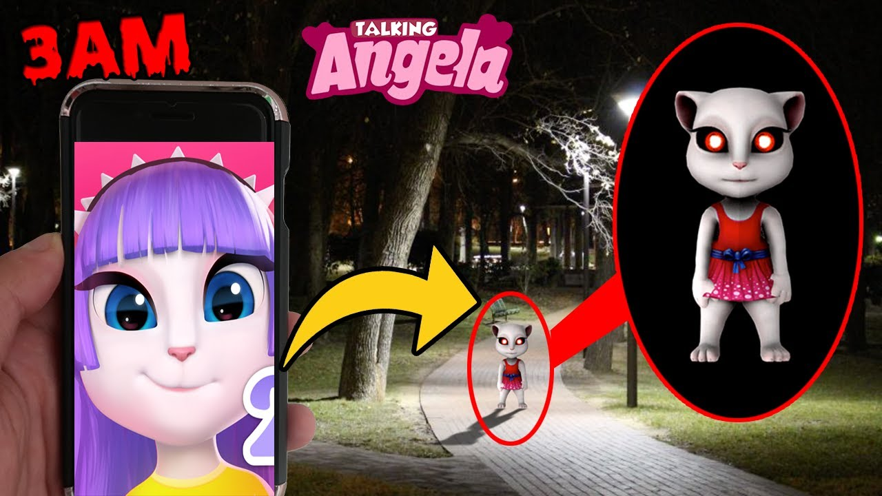 Download DO NOT DOWNLOAD THE NEW TALKING ANGELA 2 APP AT 3AM (SHE IS WATCHING)
