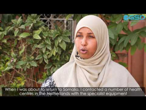 Somali Diaspora Success Stories. Muna Handulle