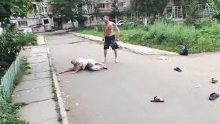 Бои  без правил в Комсомольске На Амуре  2017