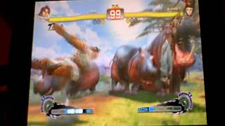 SSFIV LARL Matches - Juri (Siamakusa) vs T.Hawk (sh1Nd)
