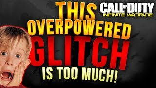 This GLITCH is so OVERPOWERED! INFINITE WARFARE GLITCH SPOT | Fix this @Infinityward @callofduty