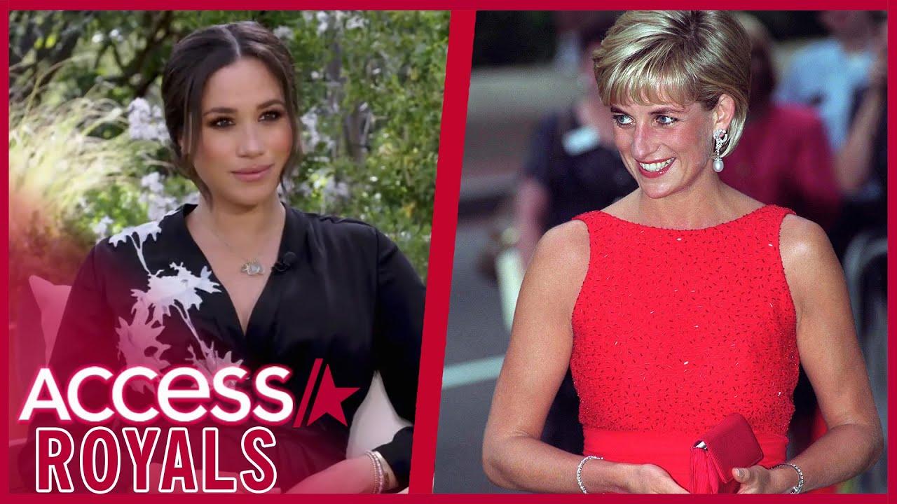 Meghan Markle Wore Princess Diana's Bracelet In Oprah Intv