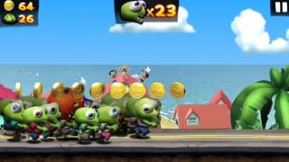 104 brains in Zombie Tsunami - my new high score in zombie tsunami