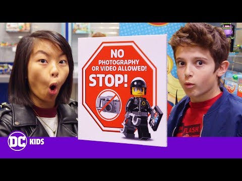 ALL NEW LEGO AND BATMOBILE PREVIEW | Inside New York Toy Fair | DC KIDS SHOW