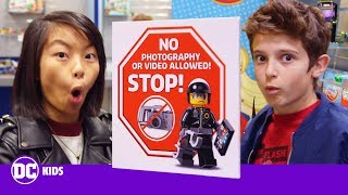 ALL NEW LEGO AND BATMOBILE PREVIEW | Inside New York Toy Fair Pt. 1 | DC KIDS SHOW