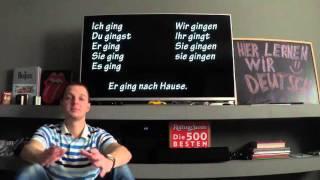 Немецкие глаголы в прошедшем времени: чем отличается Präteritum от Perfekt? Урок 29.