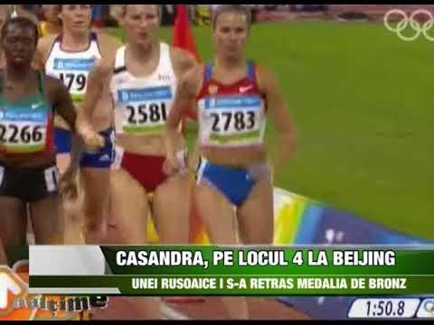 Sport   Casandra, pe locul 4 la Beijing